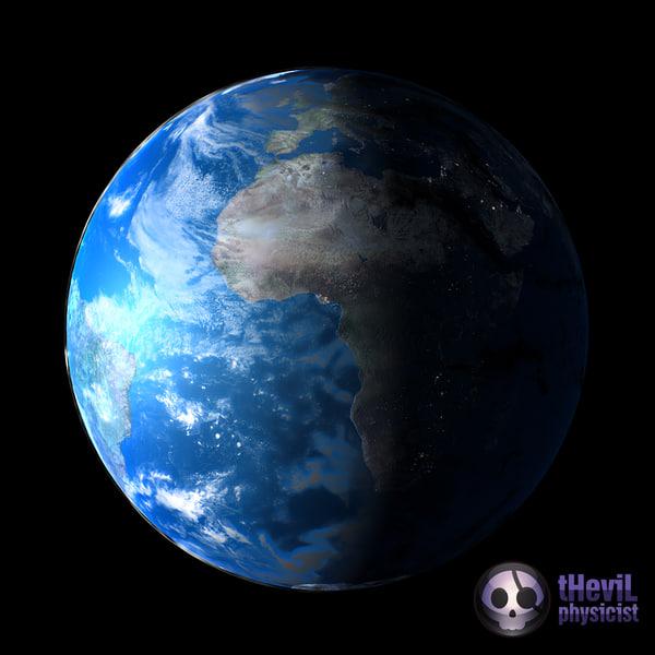 Realistic Earth Shader Materials & Shaders