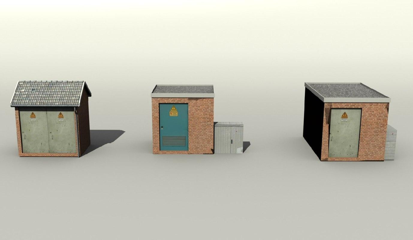 Substation set