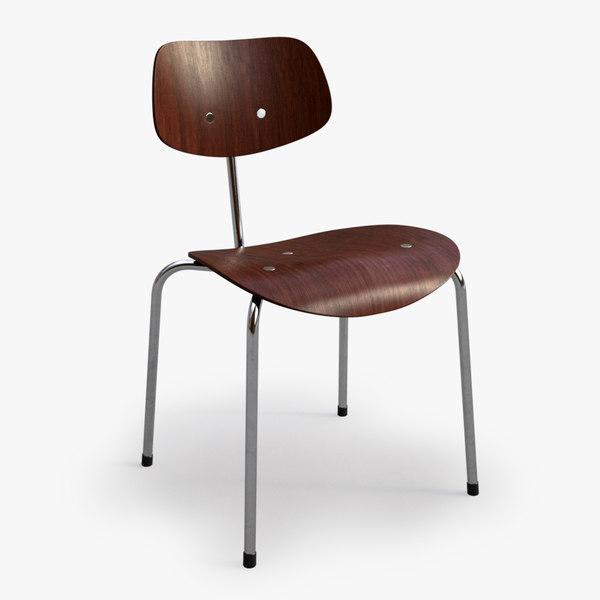 Eiermann SE 18 multipurpose chair 3D Models
