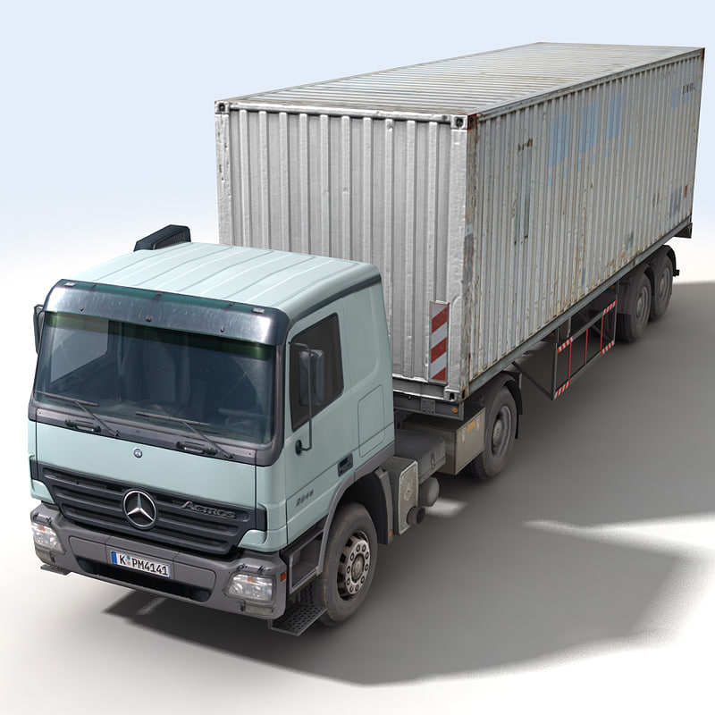 Actros Trailer Container