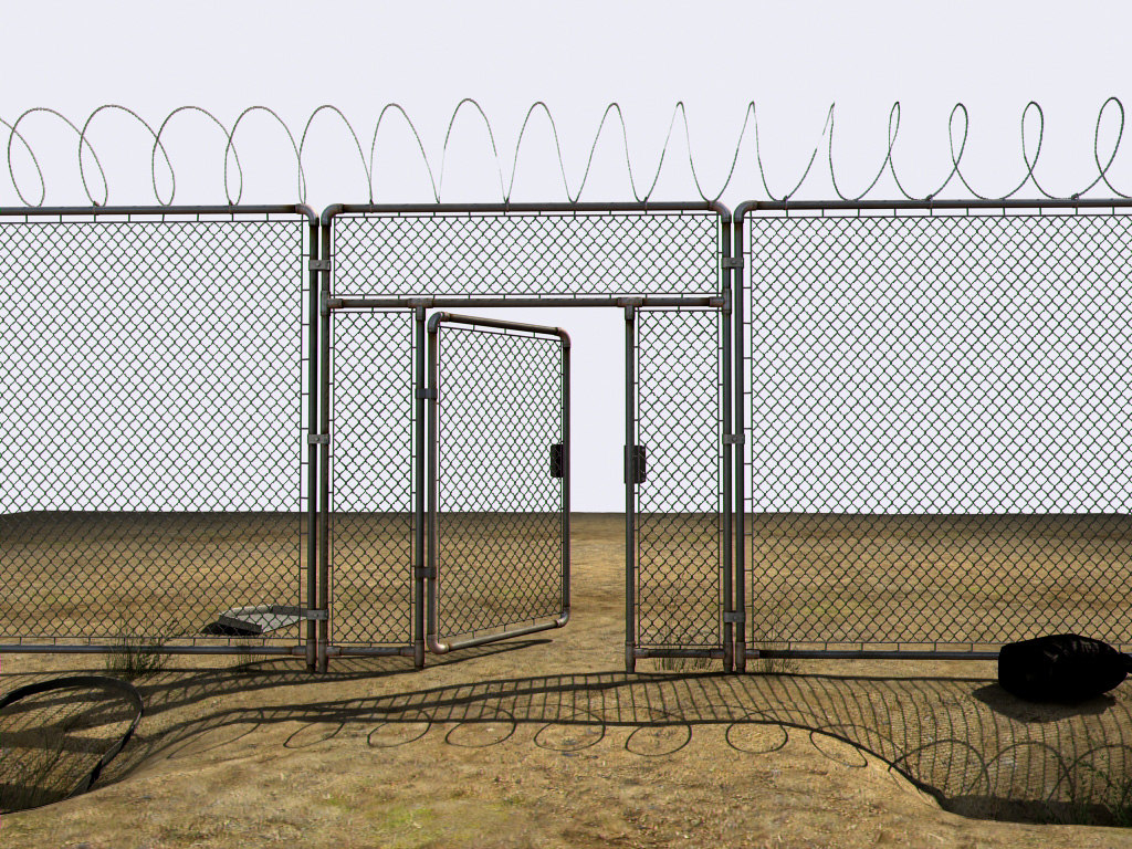 Abandoned perimeter