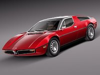 Maserati Bora 3D models