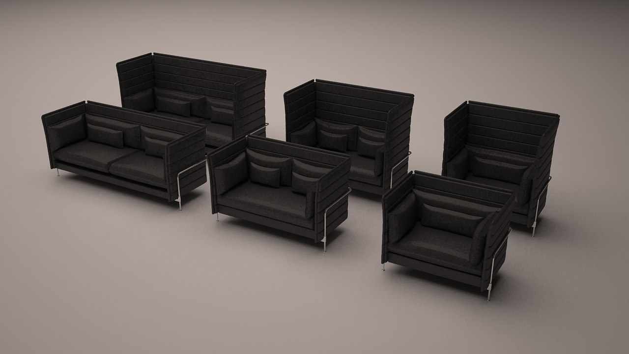 Vitra Alcove Highback Collection