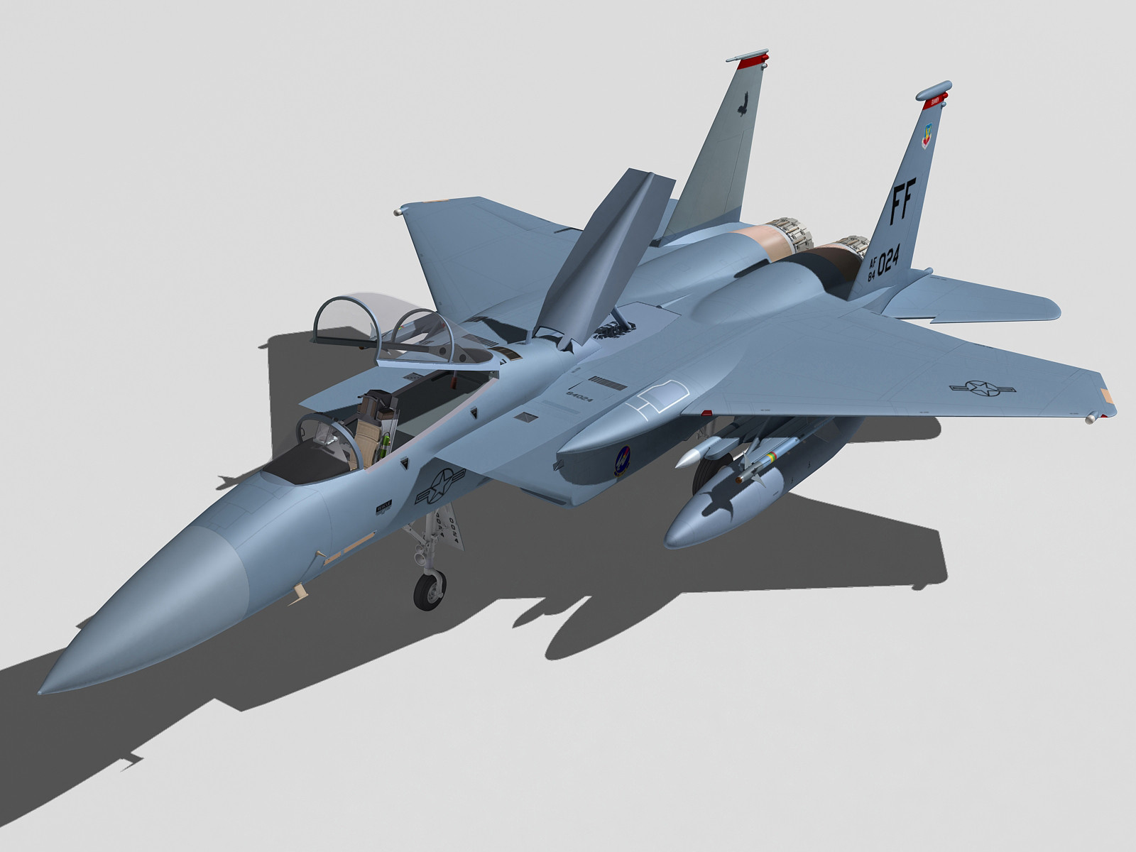 F-15C Eagle.