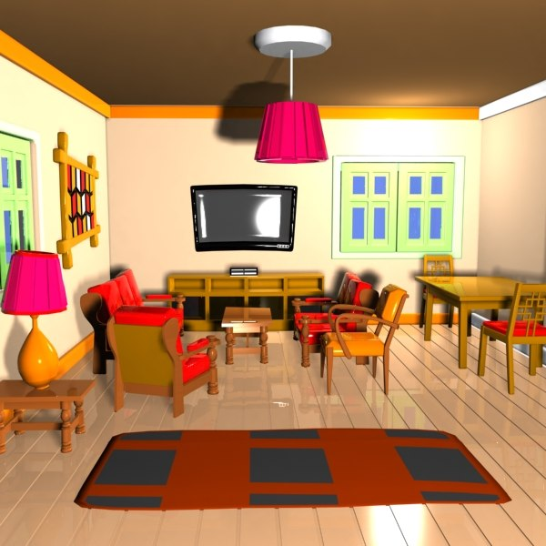 cartoon living room pictures to pin on pinterest