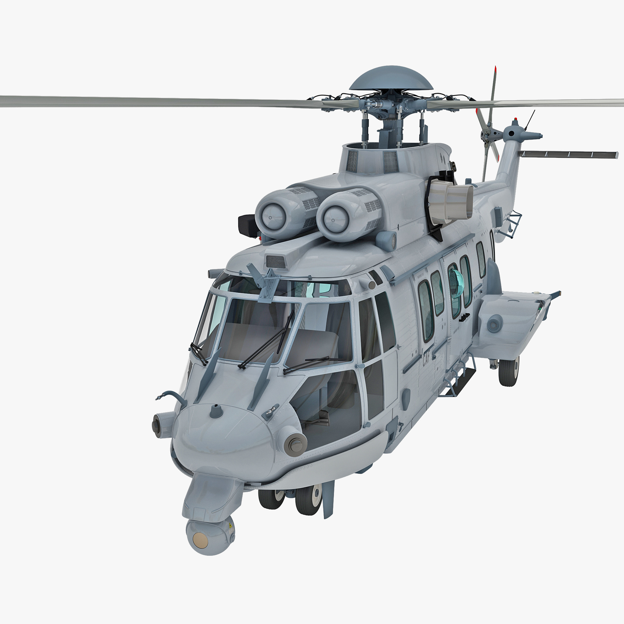 Eurocopter EC725 Caracal Tactical Transport Helicopter 2