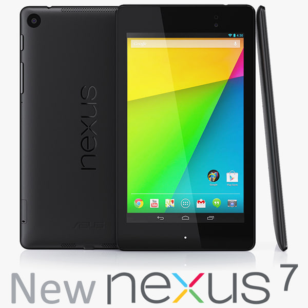 The New Google Nexus 7 2013 3D Models