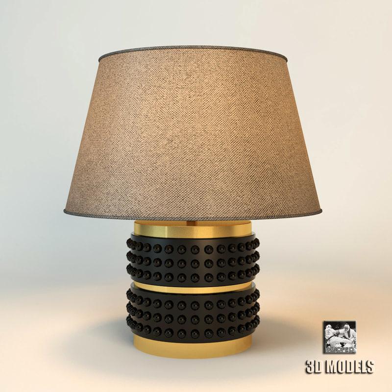 3d visionnaire night lamp model