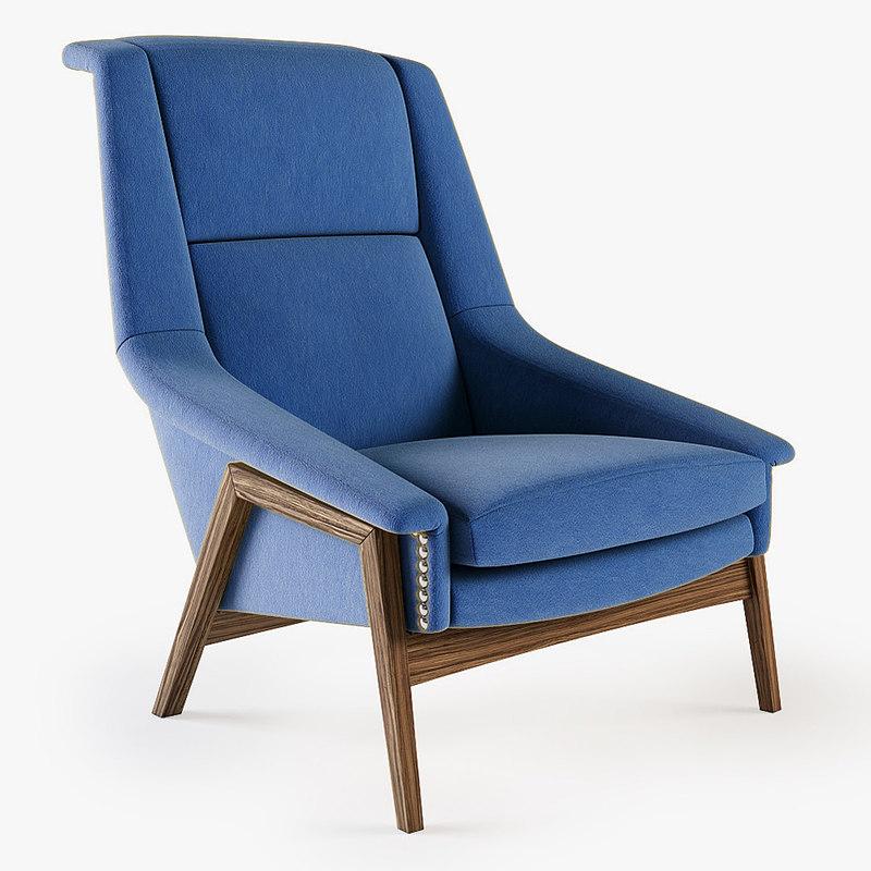 Munna - Blonde armchair (aka Brabbu - Inca chair)