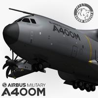 Airbus A400M 3D models