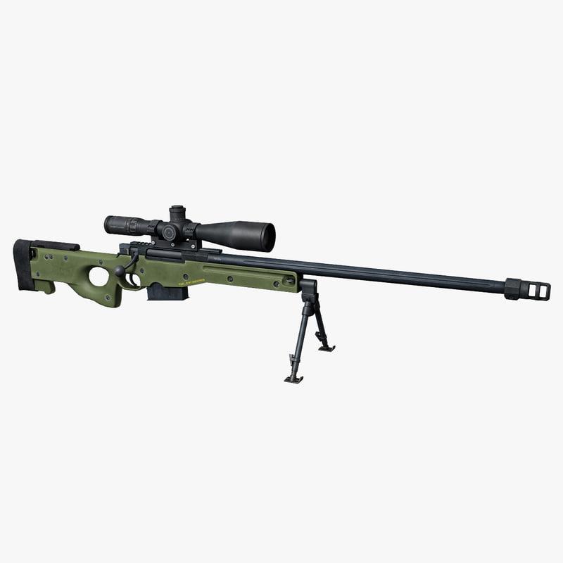 ma accuracy international l96 rifle