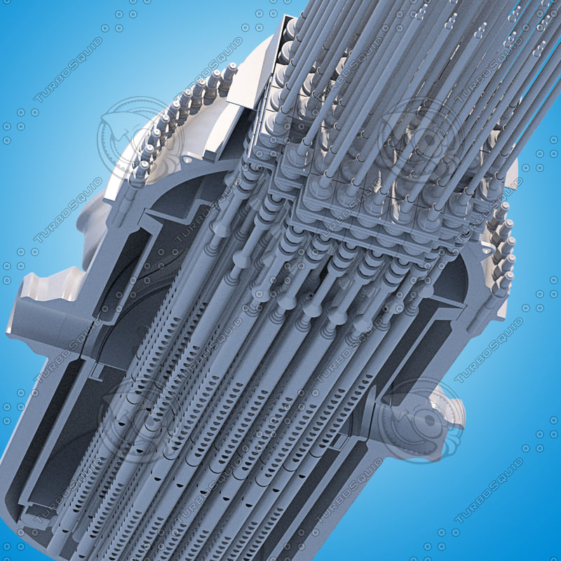 pressurized water reactors pwrs 3d max