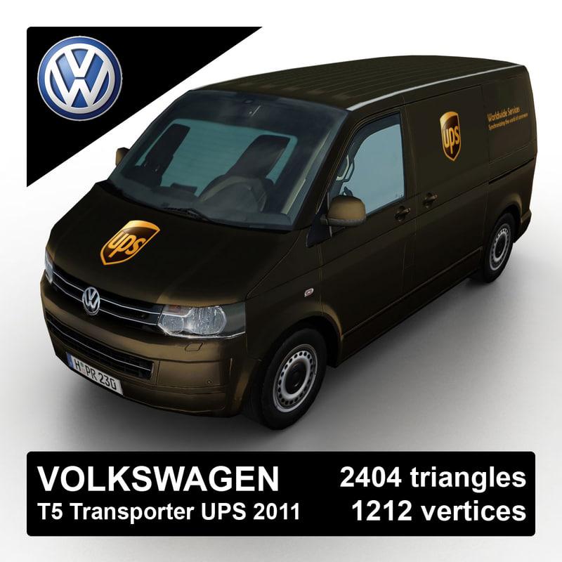 Volkswagen T5 Transporter UPS 2011