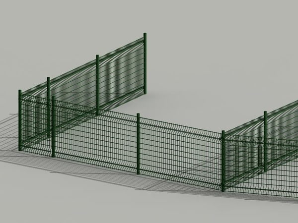 fence cloture valla 3D Models