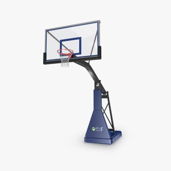 Basketball Hoop 3D Models
