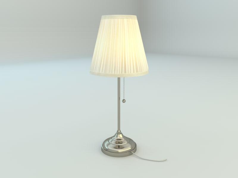 Ikea Arstid Table Lamp 3ds