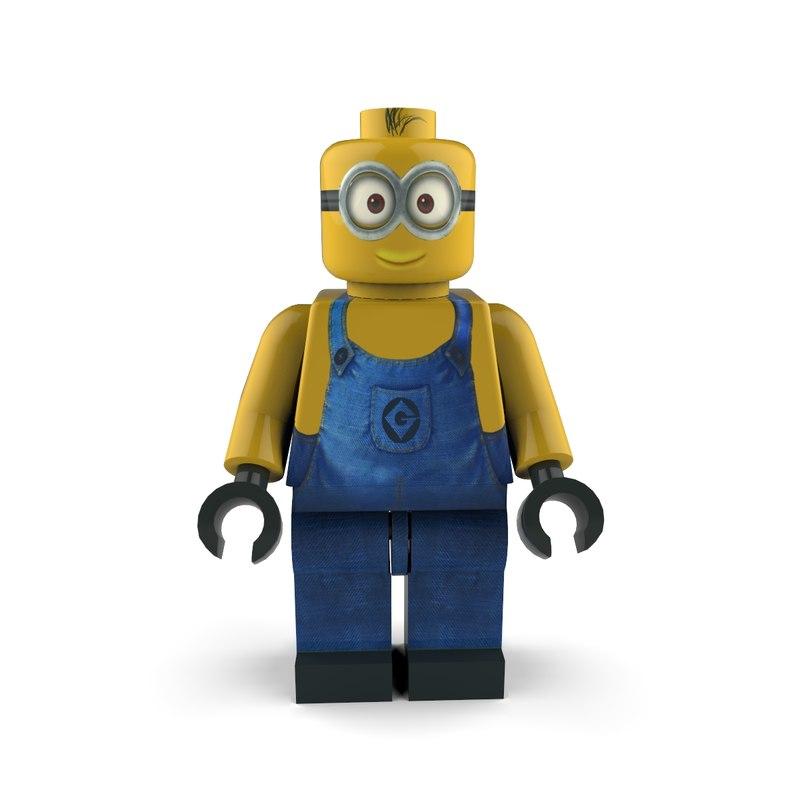 3d minion follower character model