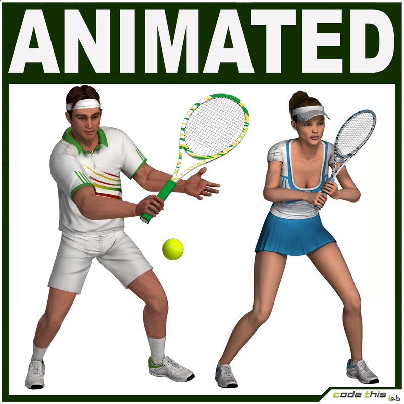 Tennis Players Pack Collection