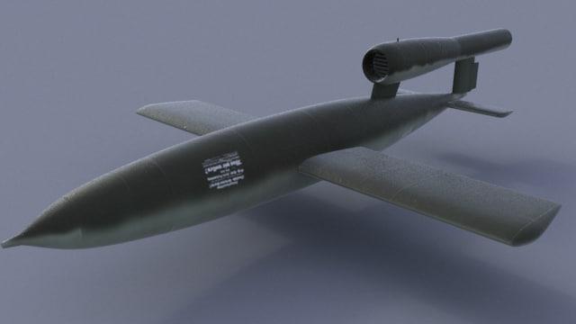 WWII German V1 Flying Bomb