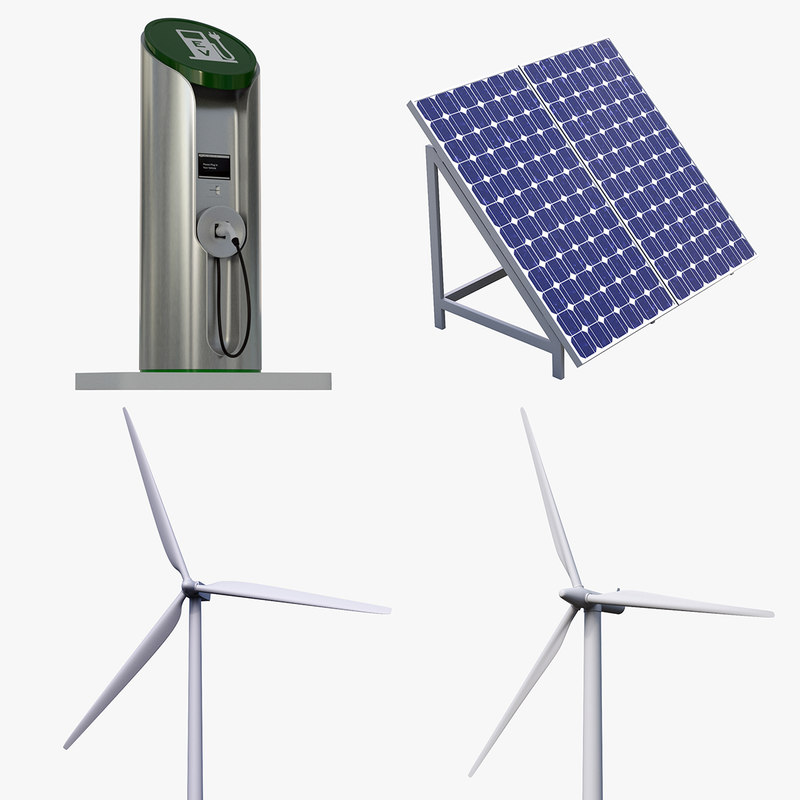 4-pc Green Power Set