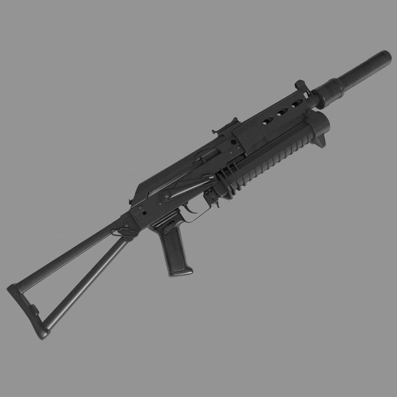 PP-19 Bizon Submachine 2