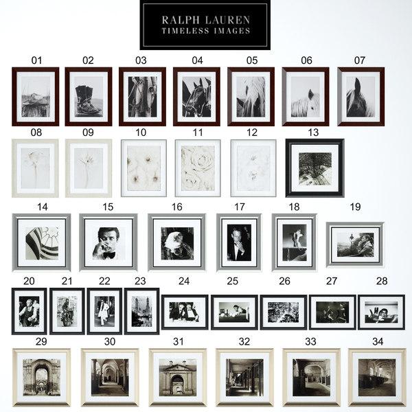 Ralph Lauren Timeless Images Texture Maps