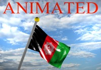 Afghanistan Flag 3D models