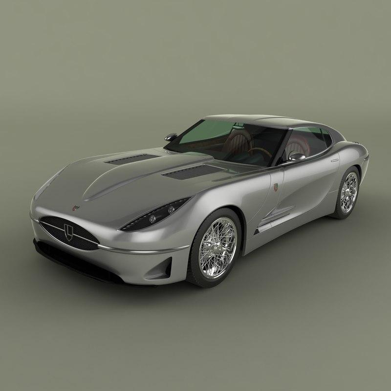 Lyonheart K Coupe Concept