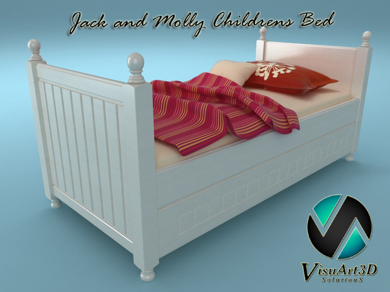 Jack and Molly Child Bed