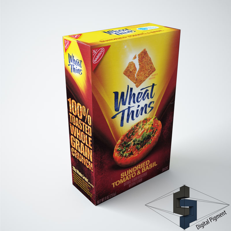 wheat thins sundried tomato 3d max
