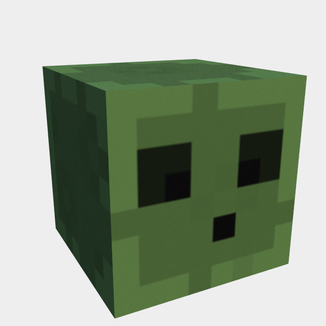 slime minecraft ped 3ds free