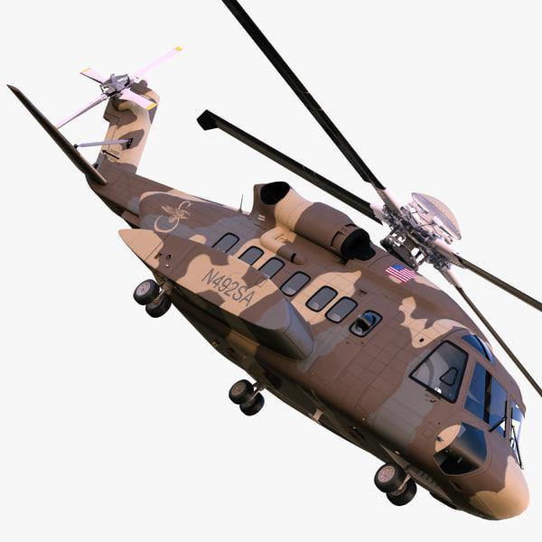 Sikorsky H-92 Superhawk 3D Models