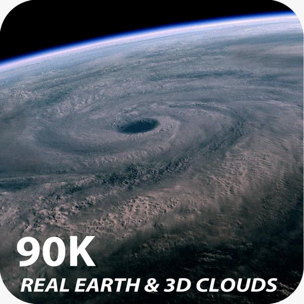 90K Real Earth 3D Models