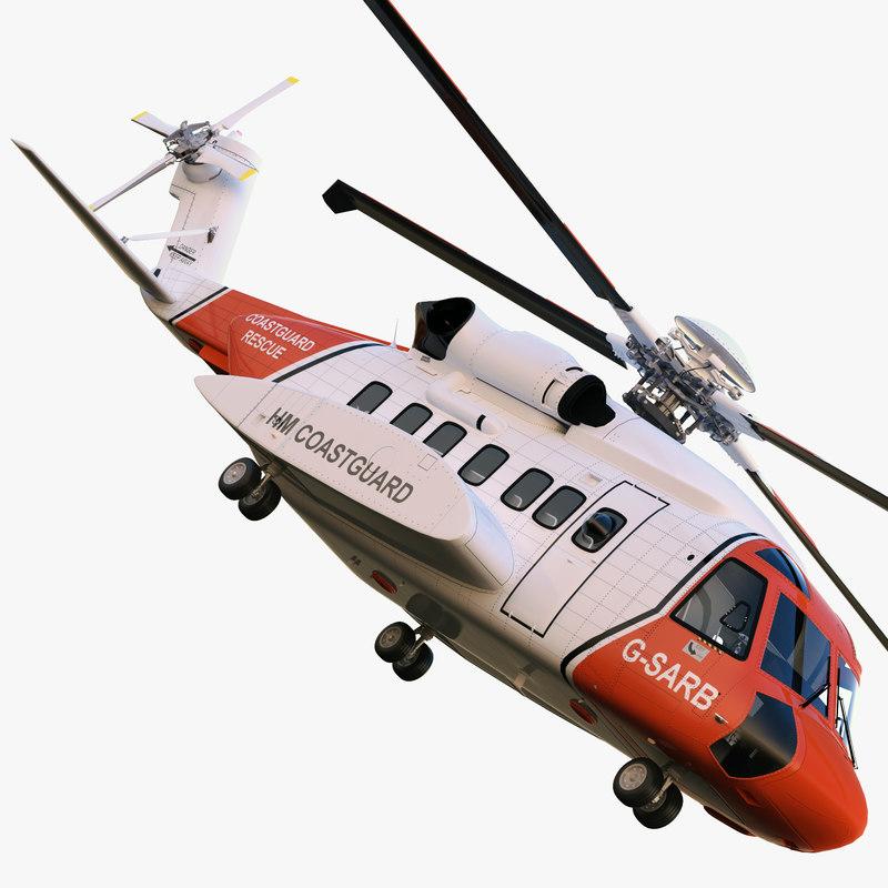 Sikorsky S-92 Coastguard Rescue