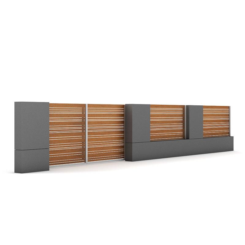 Concrete fence gate - Concrete fence models design ...
