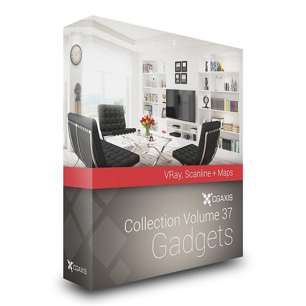 CGAxis Models Volume 37 Gadgets VRay 3D Models