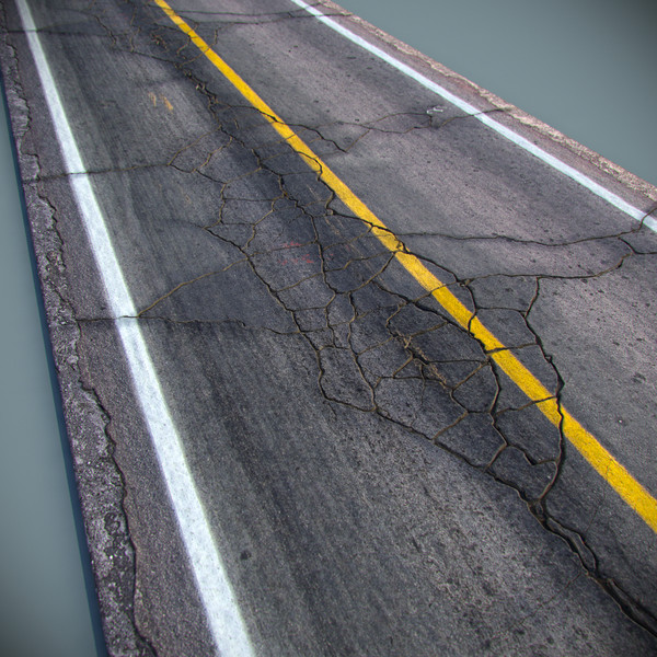 Detailed Road 3D Models