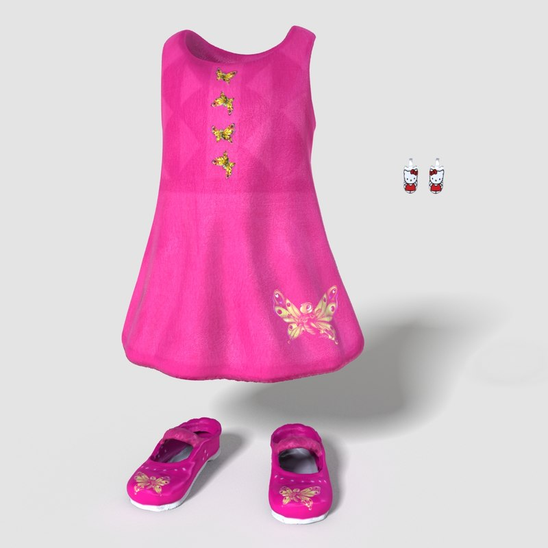 Child Girl Outfit
