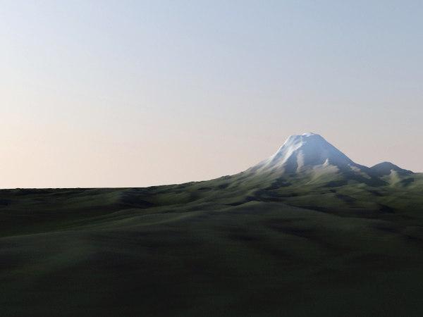Mount Rainier Washington Seattle Terrain Stock Photography