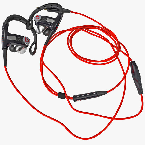 Sport Headphones PowerBeats 3D Models