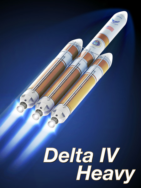Delta IV Heavy (Delta 9250H) 3D Models