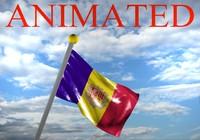 Andorra Flag 3D models