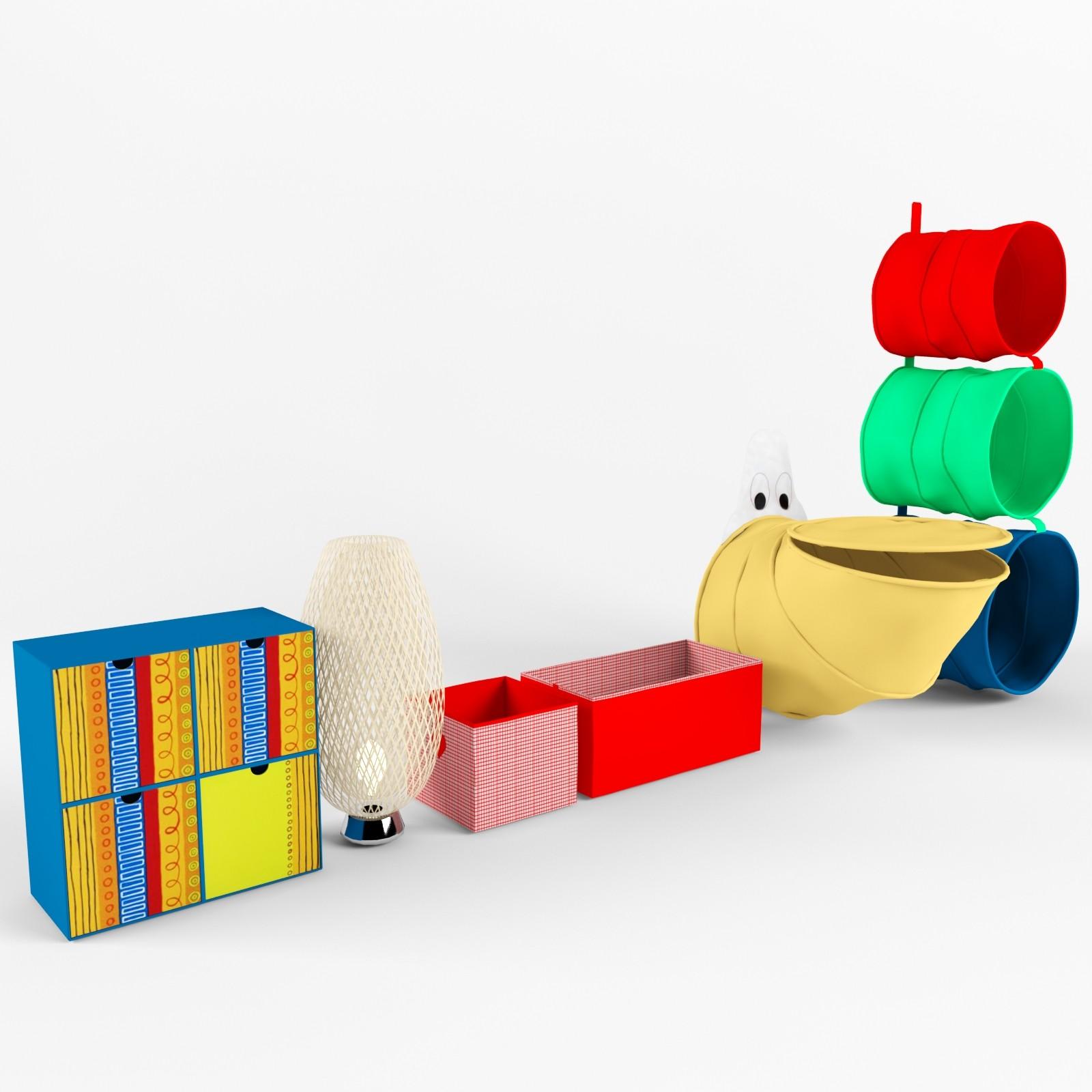 3d Model Ikea Furniture Nursery