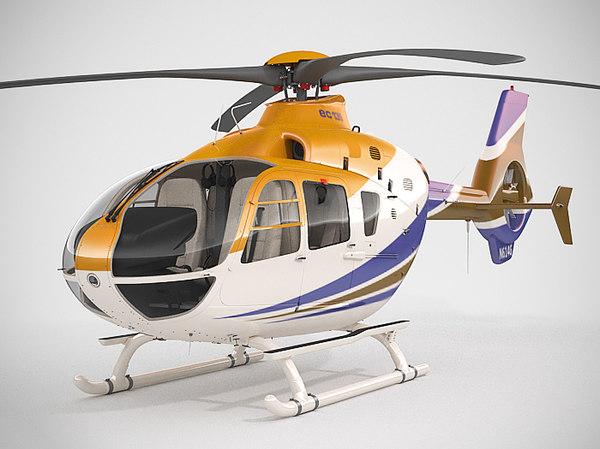 Eurocopter EC135 3D Models
