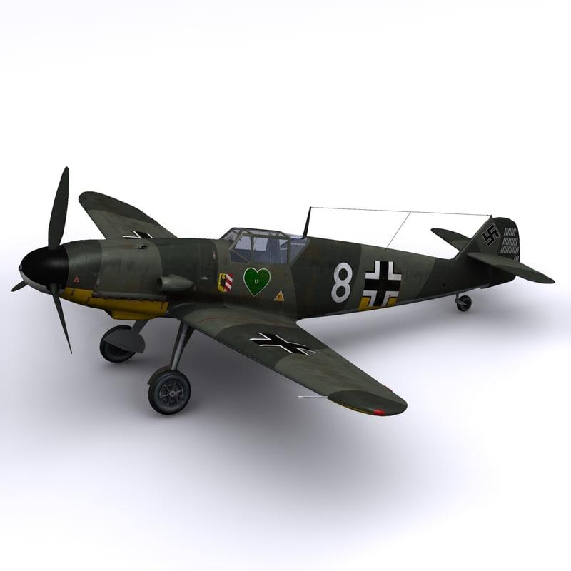 Bf-109 F2 JG54 - Walter Nowotny Russia - Summer 1942