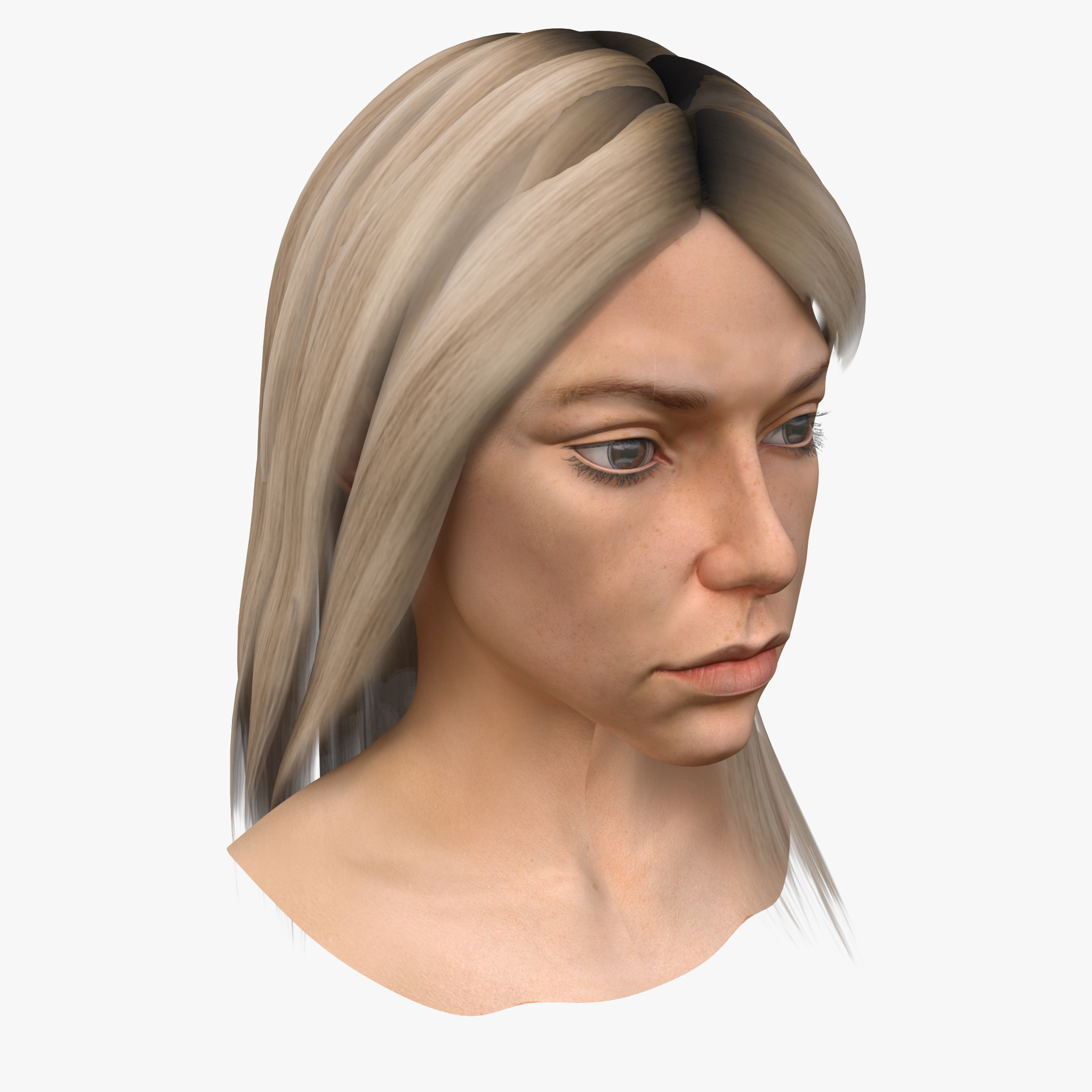 Female Head 2