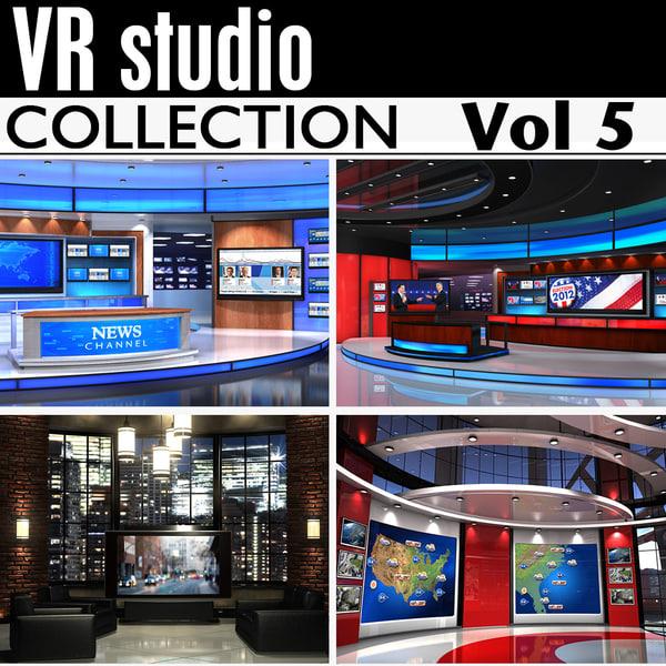 Vr Studio Collection Vol5 3D Models