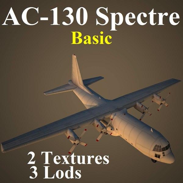 C130 Basic 3D Models
