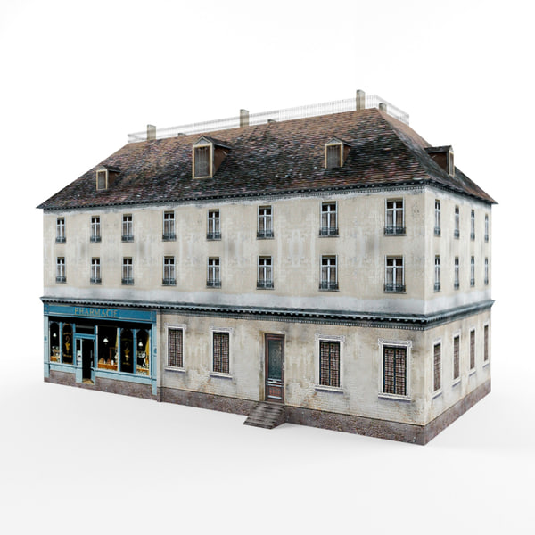 French house 3D Models