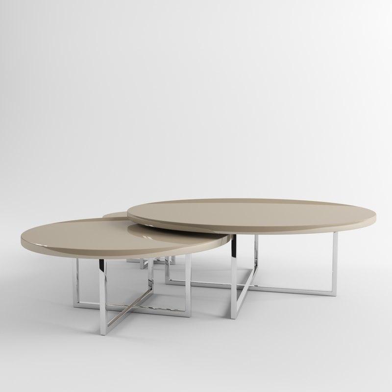 Maya coffe table fendi casa for Casa set de table